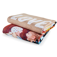60x80 Fleece Photo Blanket from Shutterfly