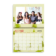 12-Month 8x11 Wall Calendar from Shutterfly