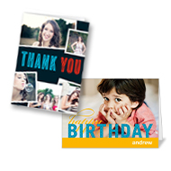 20 5x7 Stationery Cards from Shutterfly