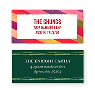24 Address Labels from Shutterfly