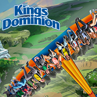 One (1) Single Day Ticket to Kings Dominion