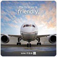 Win a flight for you and a friend on United Airlines®