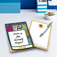 Free 5x7 Personalized Notepad