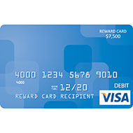$7,500 Visa ® Reward Card