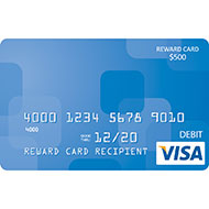 $500 Visa® Reward Card