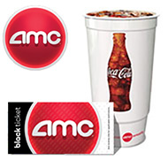 One AMC Ticket & Drink