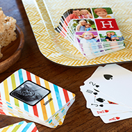 Set of Playing Cards from Shutterfly