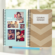 5x8 Notebook from Shutterfly
