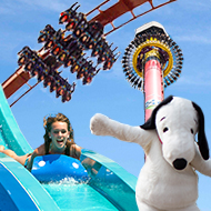 Amusement Park 2-Ticket Package Sweepstakes including Cedar Point, Kings Island, Knott's Berry Farm and others